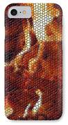 Wood Fire Mosaic IPhone Case