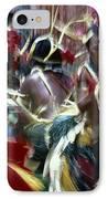 Yap Dancers In Micronesia IPhone Case