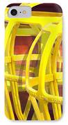 Yellow Guard IPhone Case