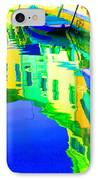 Yellow Toned Reflections IPhone Case