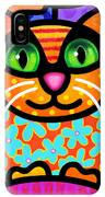 Contented Cat IPhone XS Max Case by Steven Scott