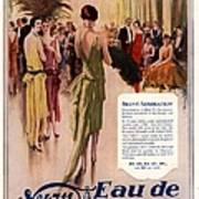 1928 1920s Uk 4711 Eau De Cologne Poster by The Advertising Archives