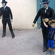 3 Godfathers Homage 1948 Ok Corral Tombstone Arizona  Poster