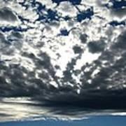 A Glorious Cloudscape Poster