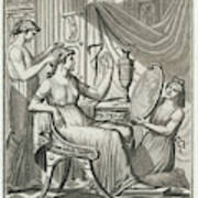 A Roman Lady Has Her Hair Done Poster