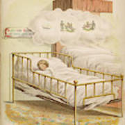 A Young Girl Dreams Of Riding Poster