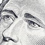 Alexander Hamilton's Ten Dollars Portrait Poster