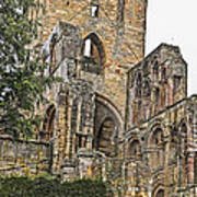 Augustinian Abbey Poster