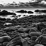 Boulders At Sunrise Marginal Way Poster by Jeff Sinon