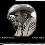 Broderick Crawford  All The King's Men Homage 1949 Gallery In The Sun Tucson Arizona Poster