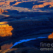 Colorado River Sunset Poster