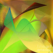 Dreams - Abstract Poster by Gerlinde Keating - Galleria GK Keating Associates Inc