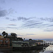 Evening In Capitola Poster