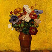 Flowers Poster by Odilon Redon