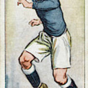 Fred Keenor, Player For Cardiff City Poster