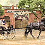 Friesian Folly Poster by Trudi Simmonds