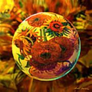Van Globing Inflorescence Poster