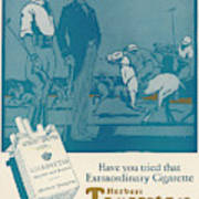 Herbert Tareyton Cigarettes - There's Poster