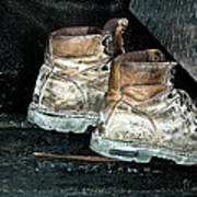 His Work Boots Poster
