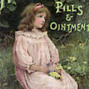 Holloway's Pills And Ointment Poster