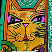 House Of Cats Series - Fish Poster by Moon Stumpp