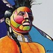 Indian Portrait Poster