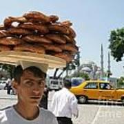Istanbul Kulouria Seller Poster