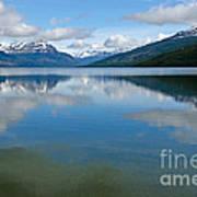 Lago Roca In Tierra Del Fuego National Park Poster