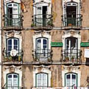 Lisbon - 18th Century Facade  Poster