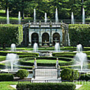 Longwood Gardens Fountains Poster
