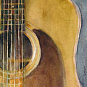 Martin Guitar D-28  Poster