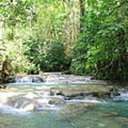 Mayfield Falls Jamaica Poster