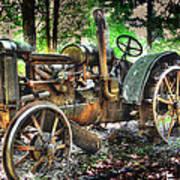Mccormick Deering Tractor Poster