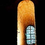 Meditation - Deep Window Mont St Michel Poster