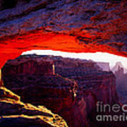 Mesa Arch Sunrise 2 Poster