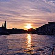 Mia Pervinca Murano Sunset  Poster