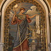Minerva Of Peace Mosaic Poster