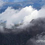 Mt. Bierstadt In The Clouds Poster