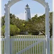 Ocracoke Island Lighthouse Poster