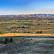 Panoramic Emmett Valley Poster