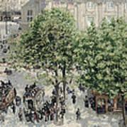 Place Du Theatre Francais Poster
