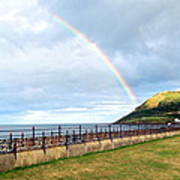 Rainbow Over Bray Head Poster