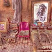 Rasta King At Marakech Poster by George Paris