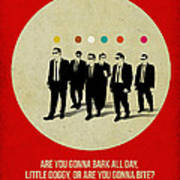 Reservoir Dogs Poster Poster by Naxart Studio