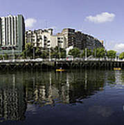 River Nervion Panorama Poster