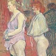 Rue Des Moulins Poster