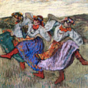 Russian Dancers Poster