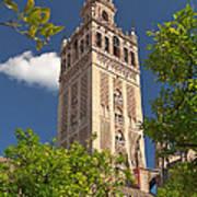 Seville Cathedral Belltower Poster by Viacheslav Savitskiy