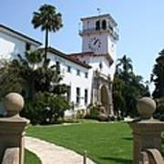 Santa Barbara Courthouse Poster