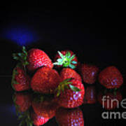 Still Life With Strawberries Poster